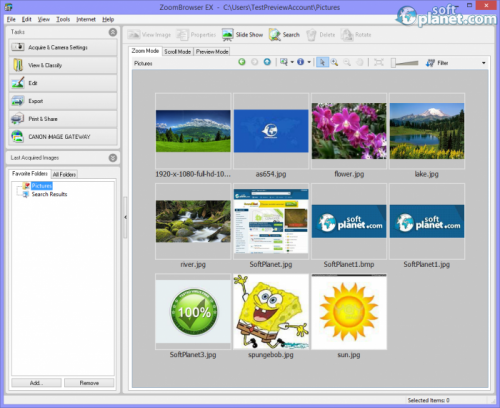 ZoomBrowser EX 6.9.0a