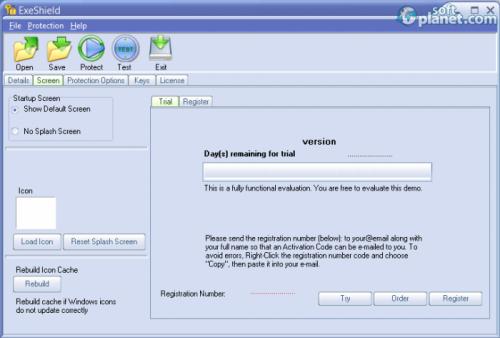 ExeShield Screenshot3