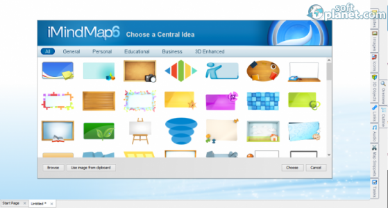iMindMap Screenshot2