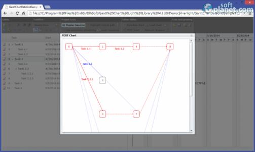 Gantt Chart Light Library Screenshot2