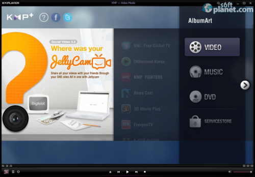 KMPlayer Screenshot2