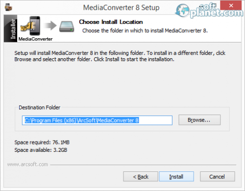 ArcSoft MediaConverter Screenshot5