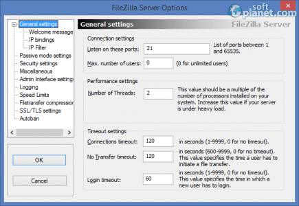 FileZilla Server Screenshot3