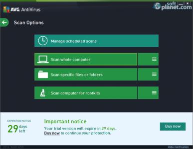 AVG AntiVirus Screenshot3