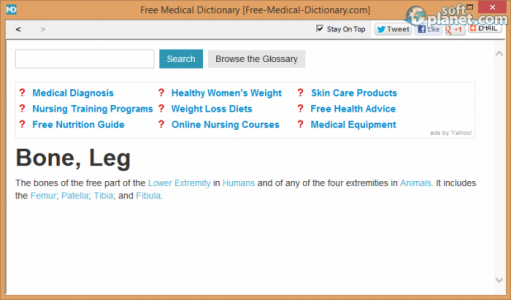 Free Medical Dictionary Screenshot2