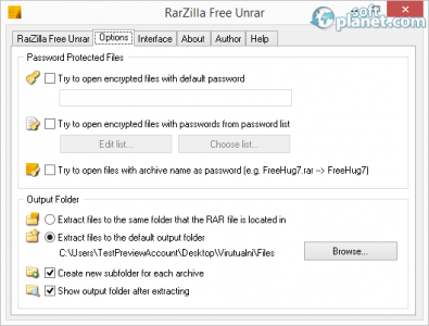 RarZilla Free Unrar Screenshot2