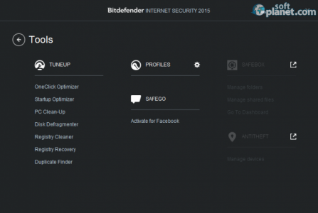 Bitdefender Internet Security Screenshot3