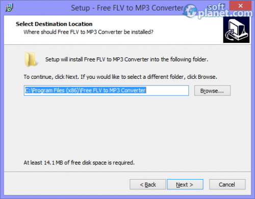 Free FLV to MP3 Converter Screenshot3
