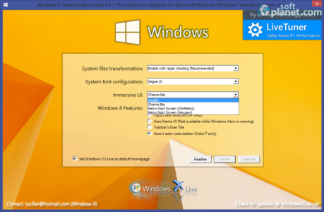 Windows 8 Transformation Pack Immersive UI