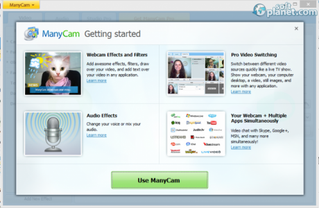 ManyCam Free Screenshot4