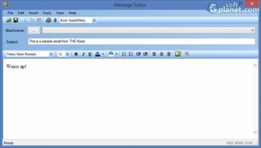 Mass eMailer Screenshot2