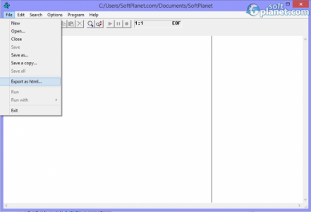 RPS Text Editor Screenshot3
