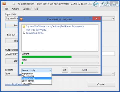 Free DVD Video Converter Screenshot3