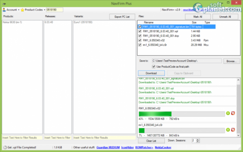 NaviFirm Plus Screenshot3