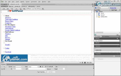Dreamweaver Screenshot5