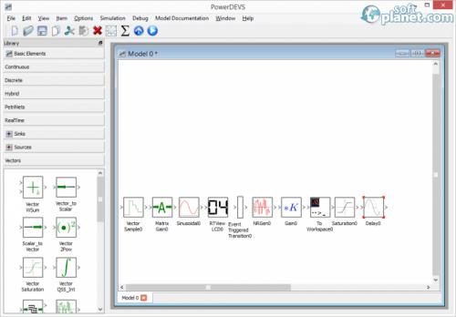 PowerDEVS Screenshot2