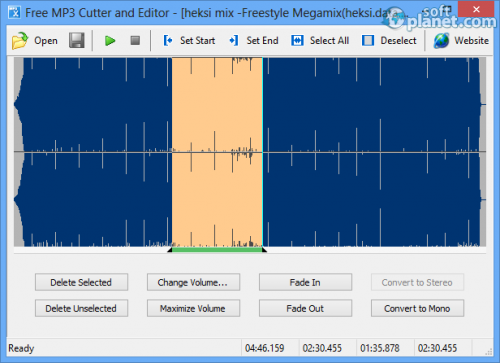 Free MP3 Cutter and Editor Screenshot2