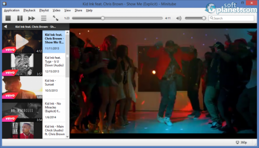 Minitube Screenshot2