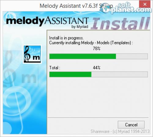 Melody Assistant Screenshot2