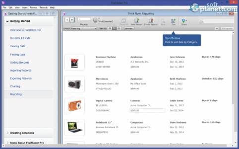FileMaker Pro Screenshot4