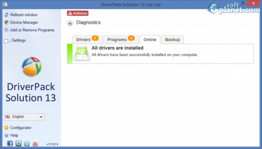 DriverPack Solution Screenshot4