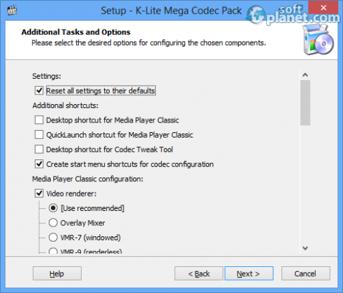 K-Lite Mega Codec Pack Screenshot3