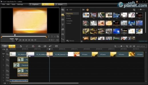 Corel VideoStudio Pro Screenshot4