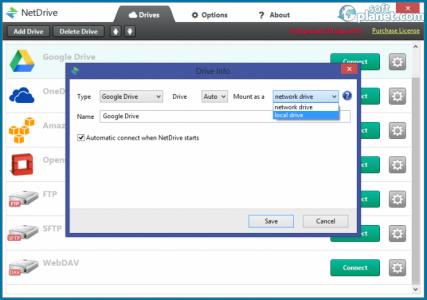 NetDrive Screenshot3