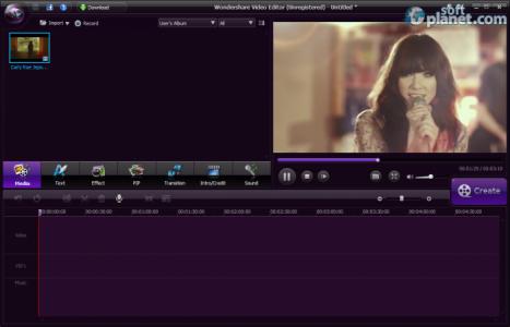 Wondershare Video Editor Screenshot3