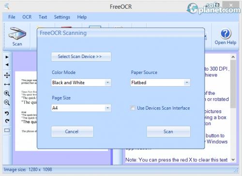 FreeOCR Screenshot3