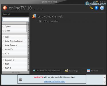 onlineTV Free Screenshot2