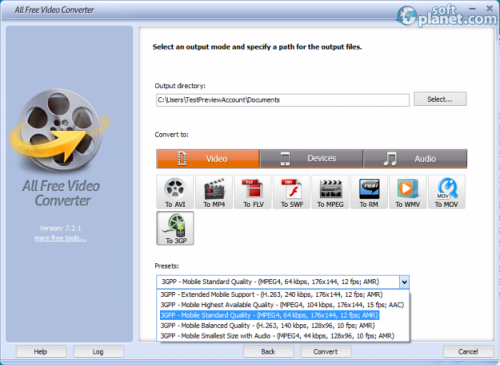 All Free Video Converter Screenshot3