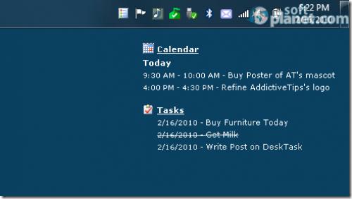 DeskTask Screenshot2