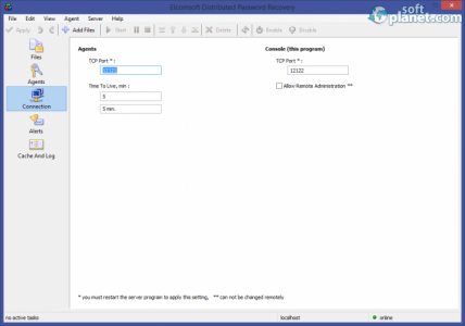 ElcomSoft Distributed Password Recovery Screenshot3