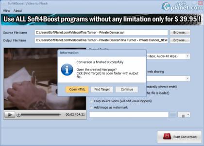 Soft4Boost Video to Flash Screenshot5