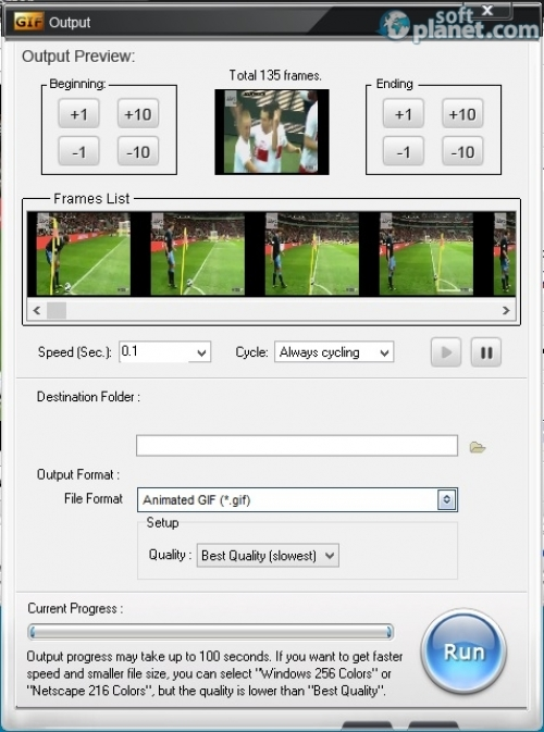 Aoao Video to GIF Converter Screenshot2