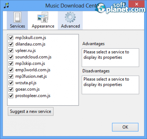 Music Download Center Screenshot3