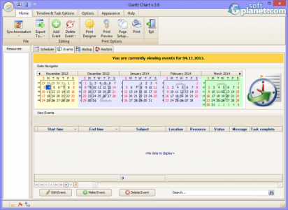 Gantt Chart Screenshot2