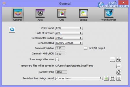 SilverFast HDR Studio Screenshot5