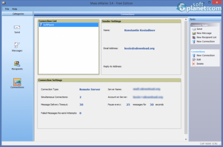 Mass eMailer Screenshot5