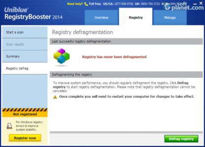 Registry Booster 2014 Screenshot4