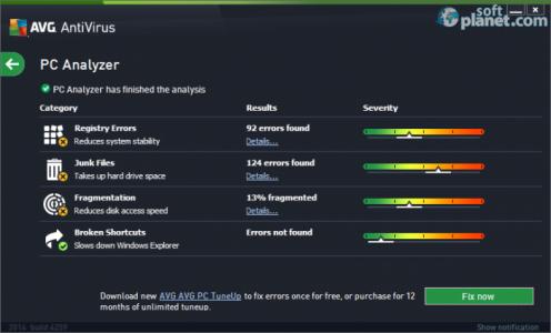 AVG AntiVirus Screenshot5