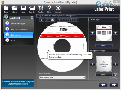 CyberLink LabelPrint Screenshot2